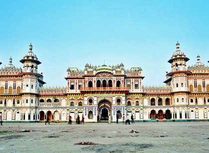Janaki Mandir is a Hindu temple in Janakpur.