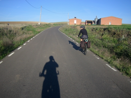 Camino a Erustes