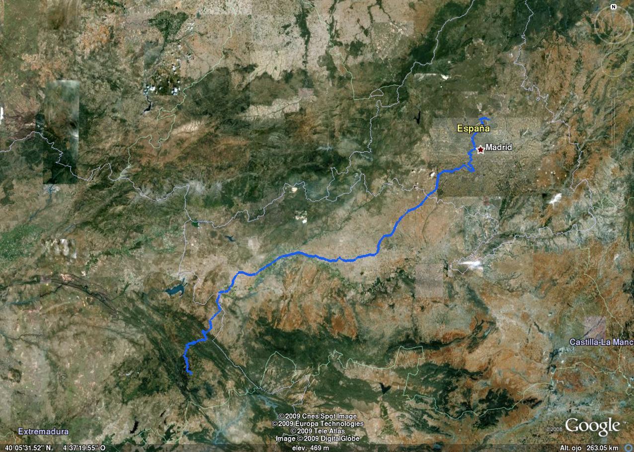 Ruta Alcobendas - Guadalupe en Google Earth