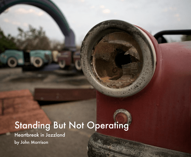 the cover image for 'Standing but Not Operating'