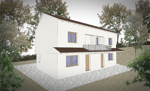 Iniziata la costruzione di un edificio monofamiliare in