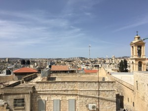 Travel with Kids - Rooftop view in Bethlehem