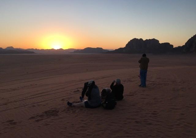 Travel with Kids - Wadi Rum