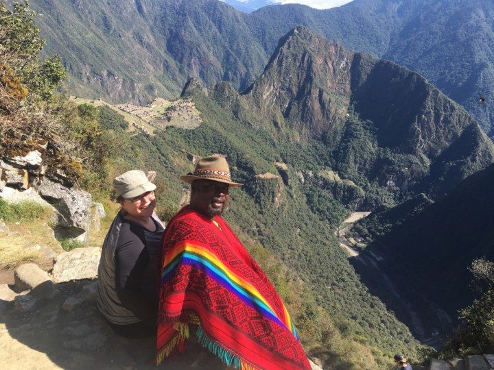 View from the Sun Gate, Machu Picchu, Peru