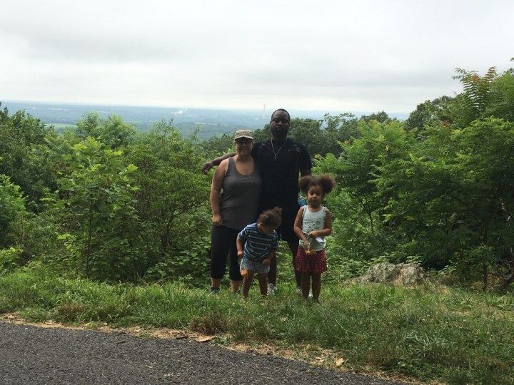 Family Portrat at Sugarloaf Mountain