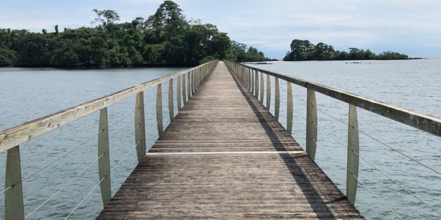 Bridge at Sofitel, Sipopo Beach, Bioko Island, Equatorial Guinea