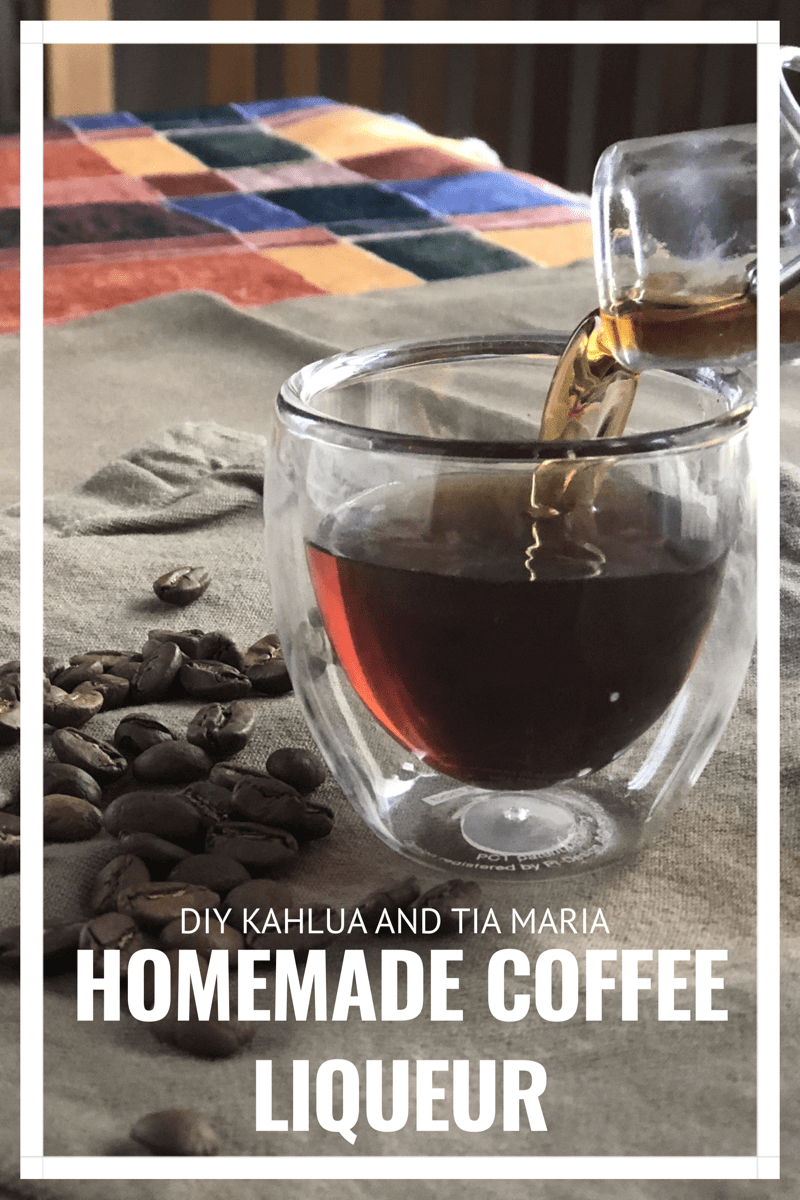 DIY Homemade Coffee Liqueur