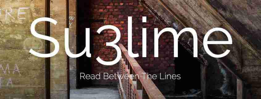 Su3lime - Read Between The Lines - Sub-Label Recordings