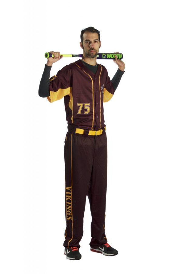 Create Your Own Baseball Uniform