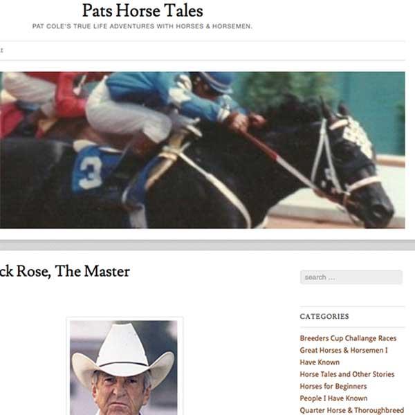 Pat's Horse Tales