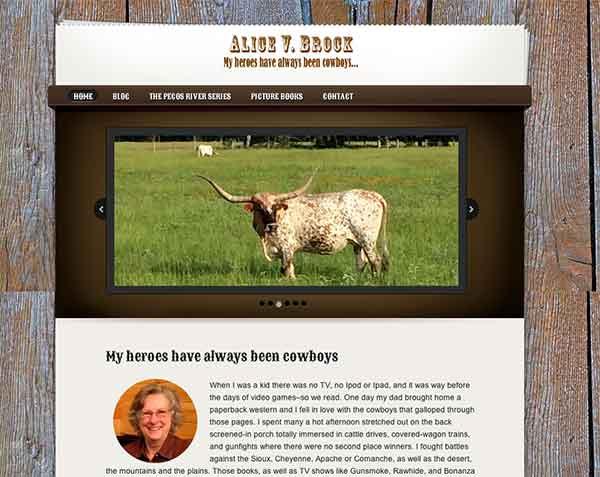 Alice V. Brock website
