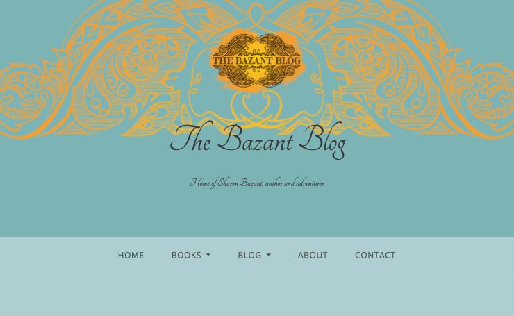 Screen capture for Sharon Bazant, author of Geckos & Guns