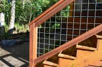 Bothell  welded wire mesh deck railing  Sublime Garden ...