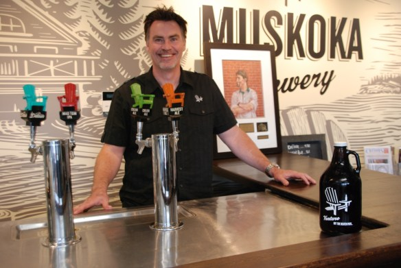 Gary McMullen of Muskoka Brewery