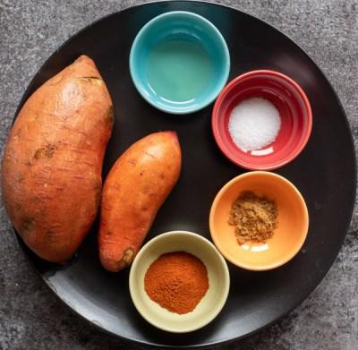 Roasted Sweet Potato Ingredients1