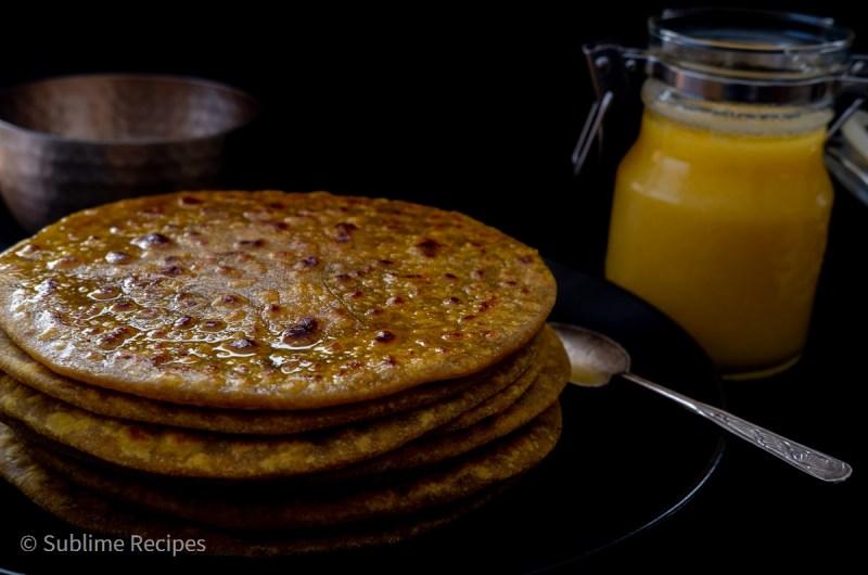 Recipe Card - Puran Poli with 100% Whole Wheat
