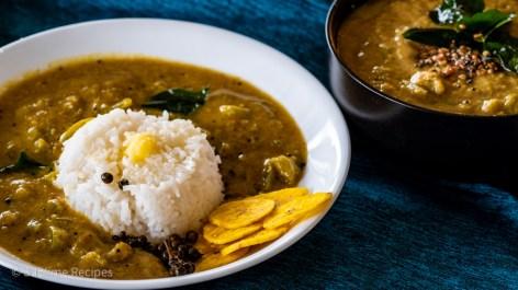 How to serve poricha kootu