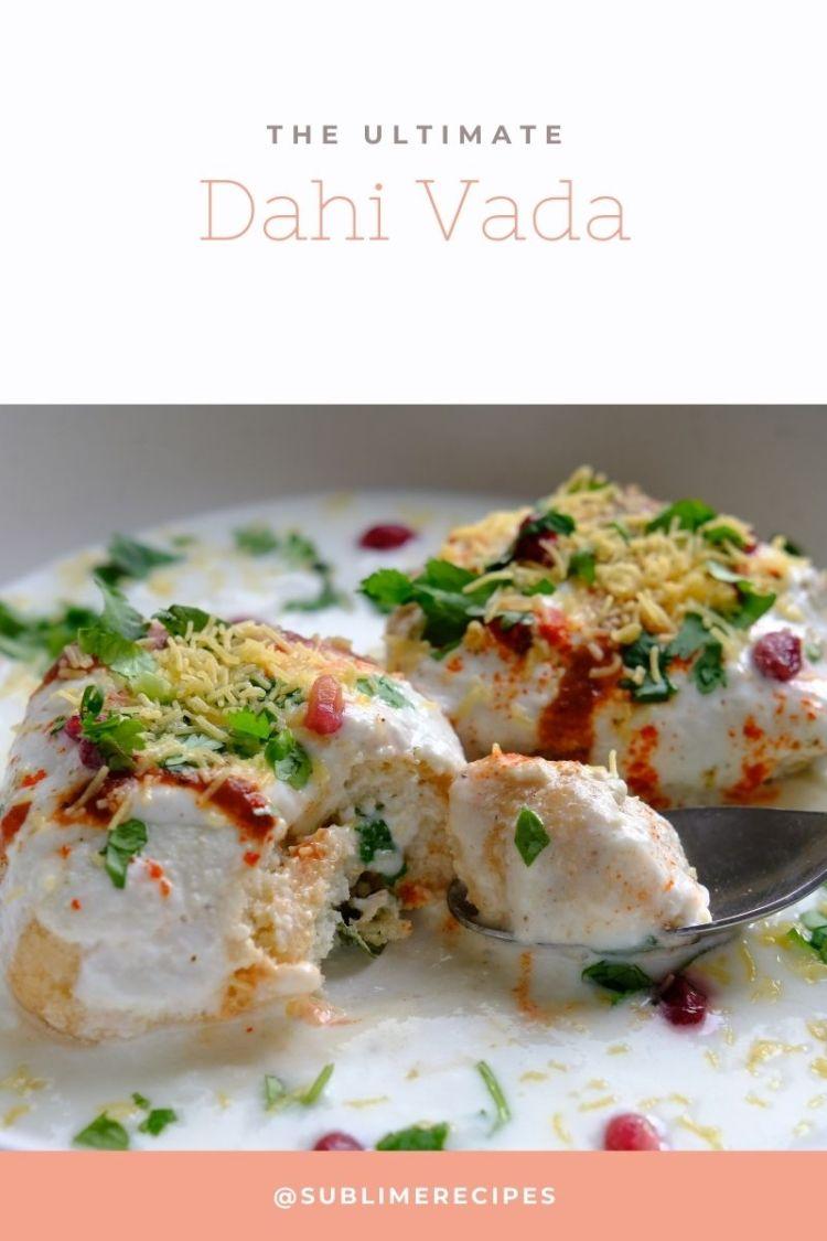 The Ultimate Dahi Vada