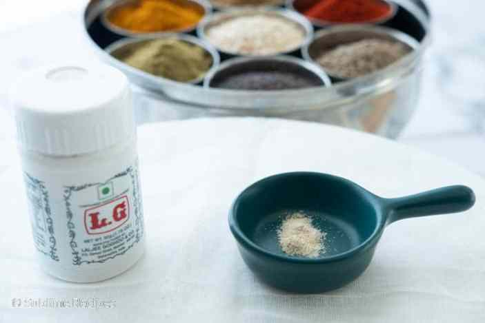 Indian Spice Box - Asafoetida - Hing - Perungaayam