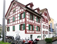 The Hotel Hofgarten, Lucerne Photograph by David Hill, 27 May 2014, 12.17