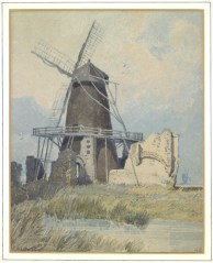 John Sell Cotman (1782-1842) St Benet's Abbey, Norfolk, from the south-west , c.1808 Graphite and watercolour on white wove paper, 282 x 224 mm Liverpool, Walker Art Gallery: From the Lady Lever Art Gallery collections (LL 3946) Image courtesy of National Galleries on Merseyside. To see this image in the NGM's own website, click on the following link, then use your browser's 'back' button to return to this page: http://www.liverpoolmuseums.org.uk/walker/collections/works-on-paper/item-228178.aspx