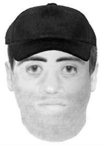 An e-fit of the Alan Wood murder suspect.