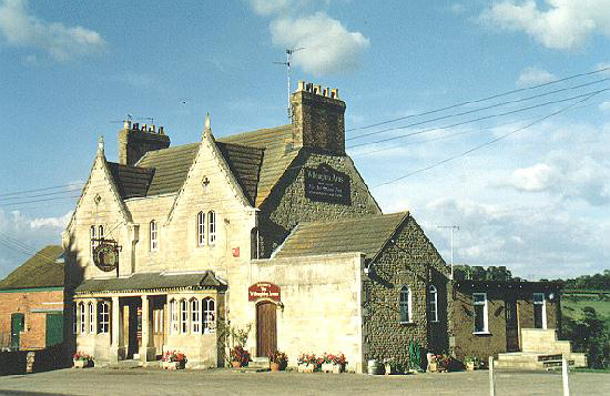 The Willoughby Arms pub in Little Bytham