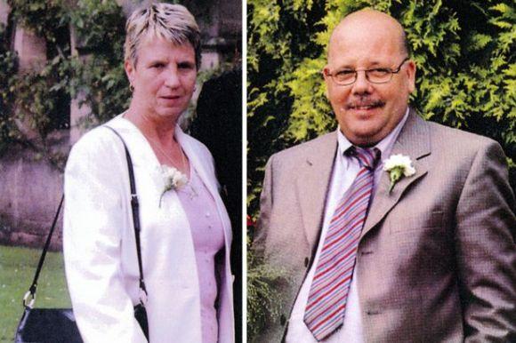 John and Joan Stirland - Image PA