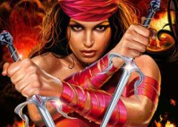 9. Elektra Nachios (The Comic/Non-Jennifer Garner Version): She is a f*cking ninja and bad ass one at that. She has basically mastered all of the types of martial arts, but chooses to use her trademark twin sai to get the job done. In order to keep her level of badassery intact, I have chosen to act as if the movie 'Elektra' didn't exist (like the rest of the world).