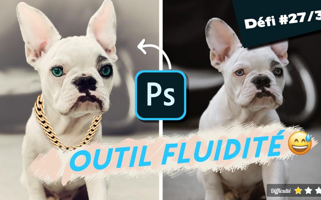 🎓Comment déformer une image avec l'outil fluidité de Photoshop ?