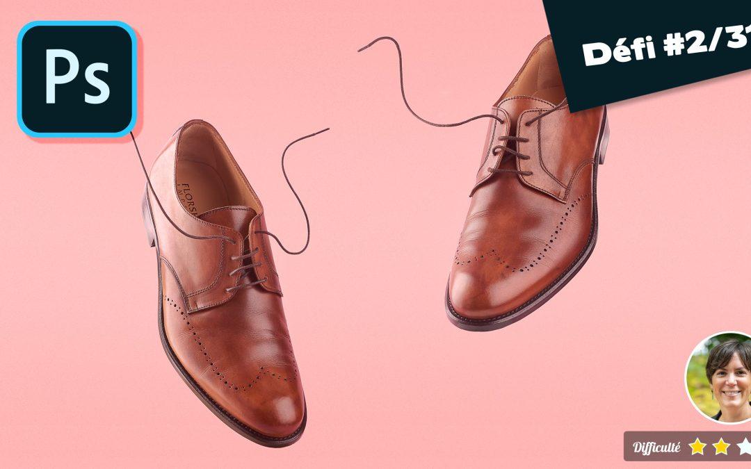Comment photographier et retoucher des chaussures en lévitation ?