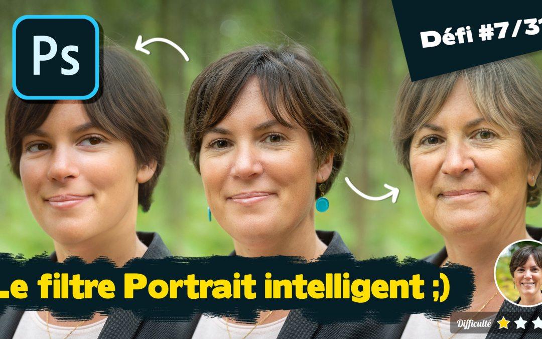 Photoshop 2021 : le filtre portrait intelligent