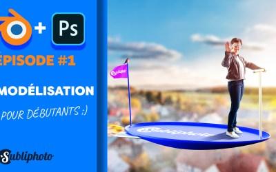 Mixer 3D et Photoshop : série de tutoriels pour débutants