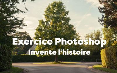 Exercice Photoshop : crée une composition automnale !