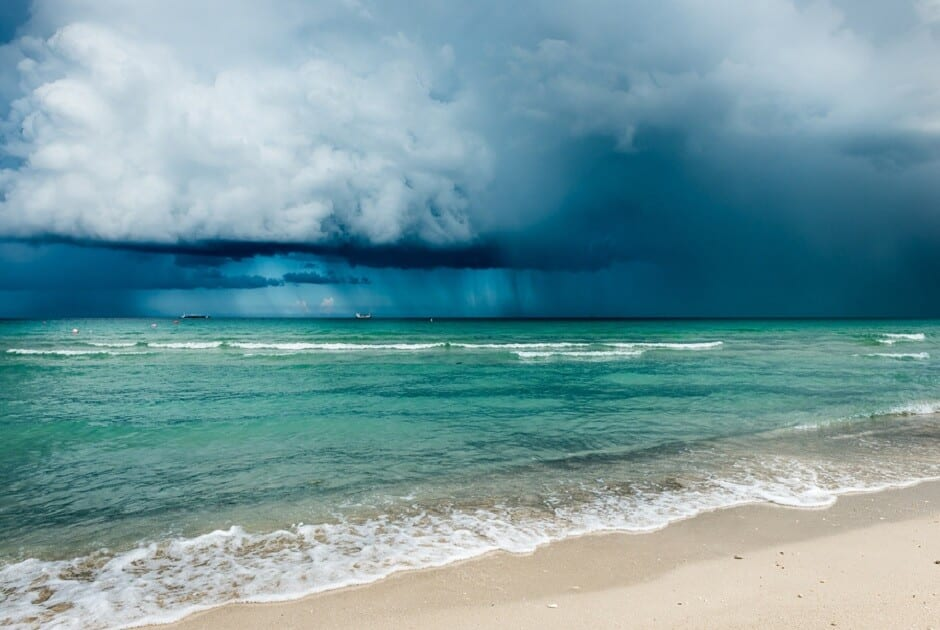 Hurricanes Bring Beach Erosion To Light