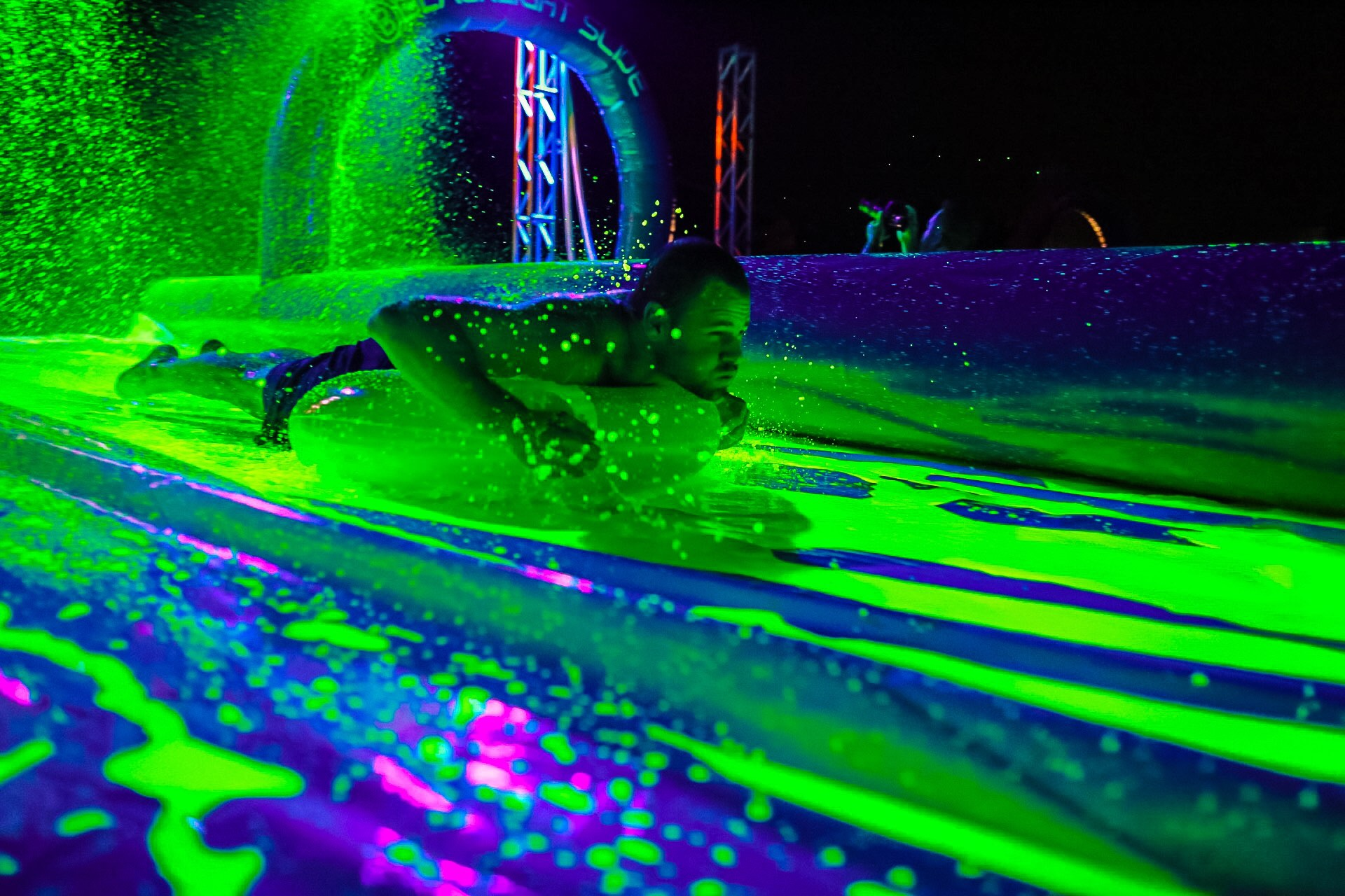 Blacklight Slide Party Comes to Raley Field  Sept 9