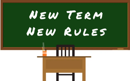 New Term New Rules