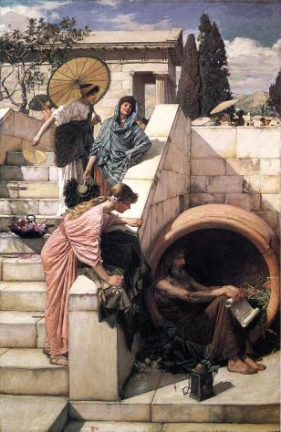 Will the future of salaried employees remind us more of Diogenes