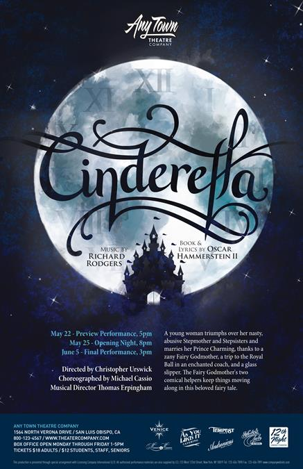 Customize Your Cinderella Poster Design