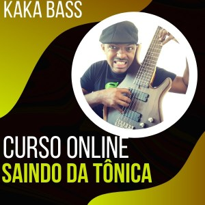 Curso Saia da Tônica no Contrabaixo com Kaka Bass kakabass