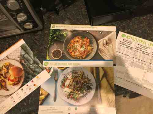 Hello Fresh Menu March 25