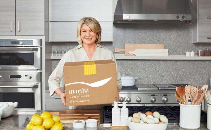 Martha & Marley Spoon box