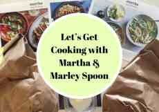 Let's Get Cooking with Martha & Marley Spoon