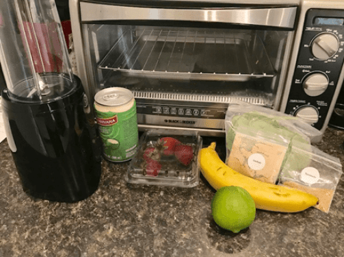 strawberry lime cooler