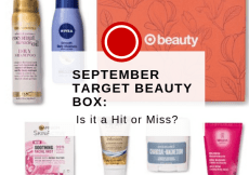 SEPTEMBER TARGET BEAUTY BOX_ IS IT A HIT OR MISS