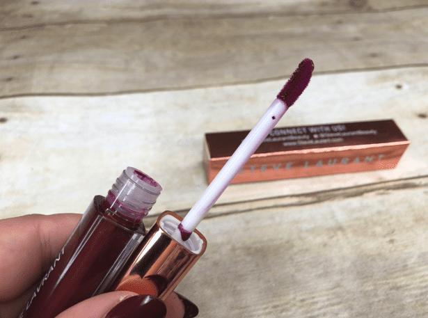 steve laurant eggplant lip gloss