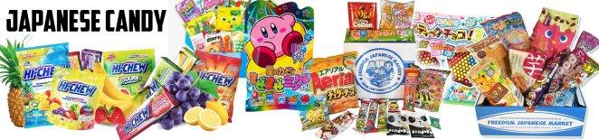 Japanese candy header image
