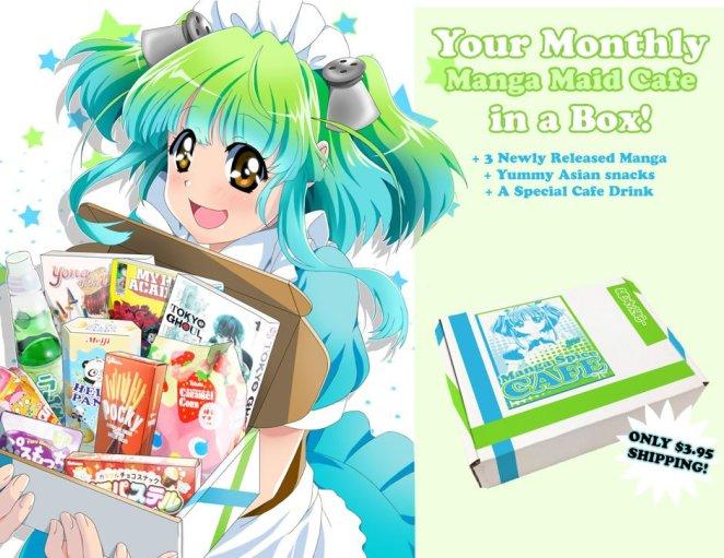 Manga Spice Cafe Maid Image