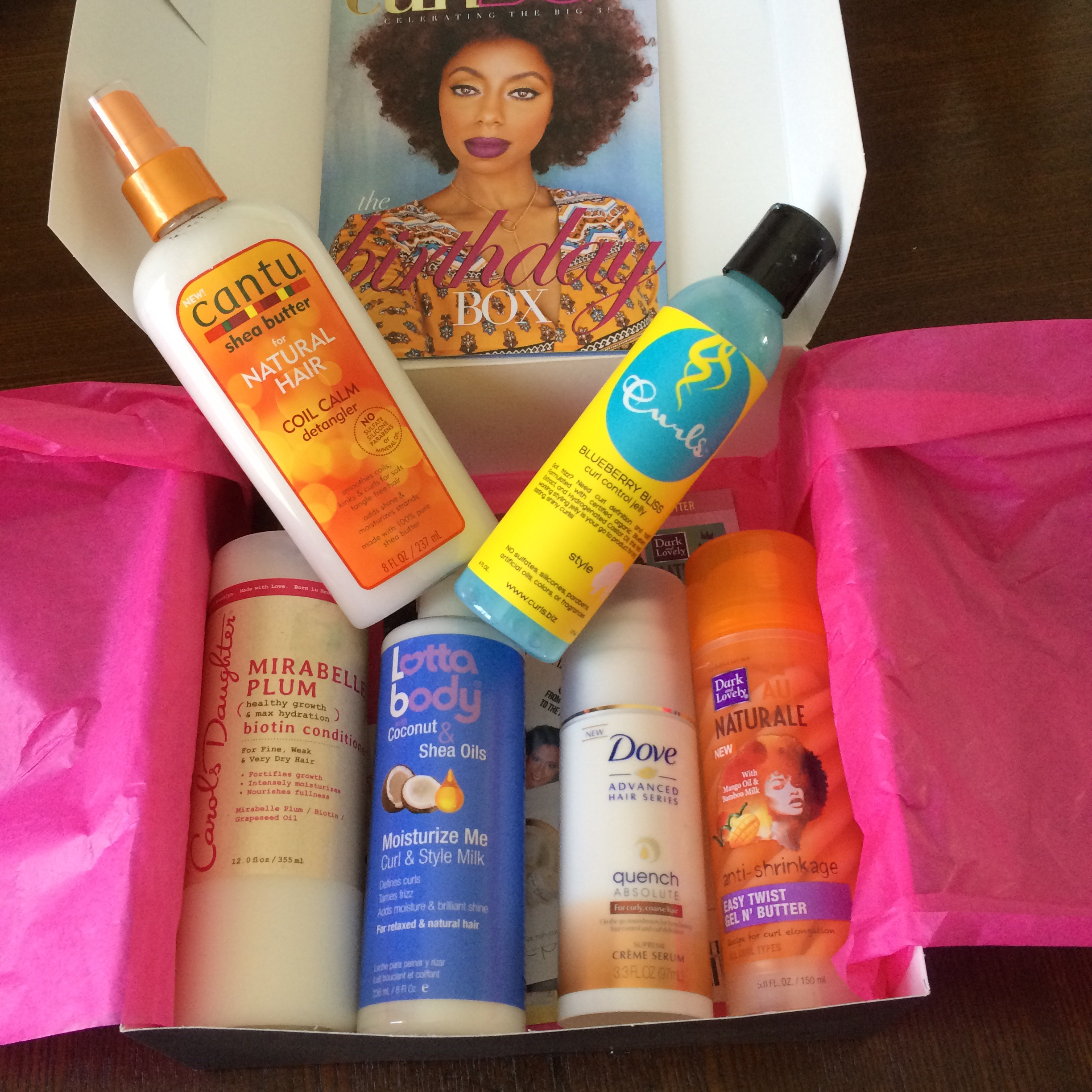 Curlbox February 2015 Subscription Box Review Attention