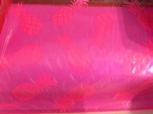 Samdura - Pink Pina Zip Pouch